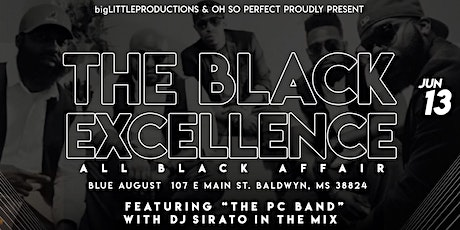 """The Black Excellence"" All Black Affair Feature The PC BAND tickets"
