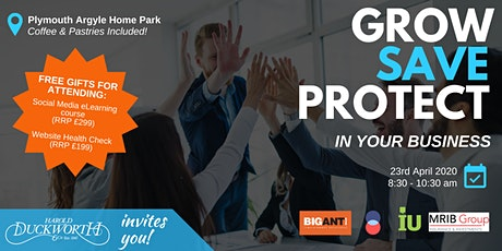 Grow, Save & Protect in Your Business tickets