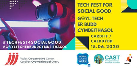 Welsh Tech Festival for Social Good tickets