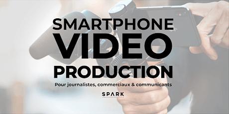 Création de contenu vidéo sur smartphone pour commerciaux et journalistes billets