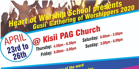 Gusii Gathering of Worshippers 2020 tickets