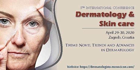 5th EuroSciCon Congress on  Dermatology & Skin Care tickets
