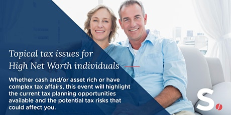 Tax Planning update for High Net Worth Individuals tickets
