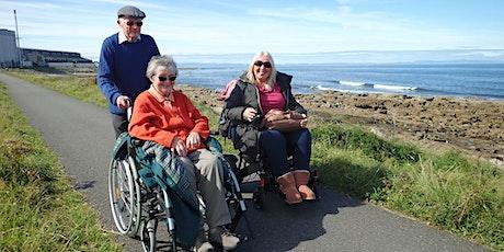 Wheels in the Wild -  a coastal foraging walk in Findhorn Bay tickets
