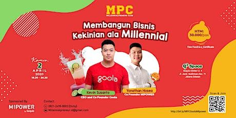 Membangun Bisnis Kekinian Ala Millennial tickets