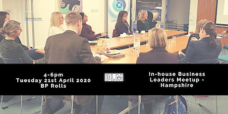 Business Leaders Meetup (BLM) - Hampshire tickets