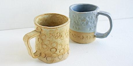 Pottery, Clay & Ceramic Workshop - Mug tickets