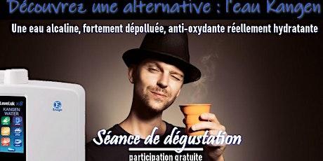 Etes vous sensible à l'eau que vous buvez ? Découvrez une eau douce, l'eau Kangen - Samedi 11 avril 2020 Paris 15H billets