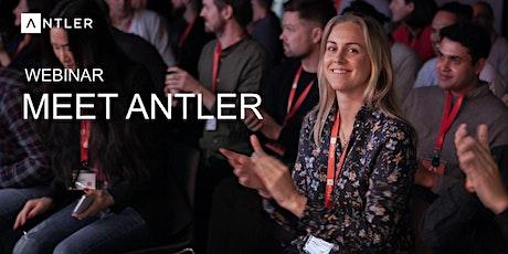 WEBINAR | Meet Antler | Thu. Apr. 16th tickets