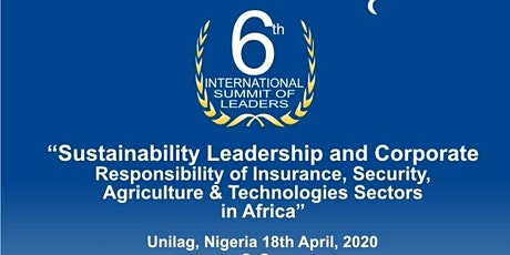 Sustainability Leadership & Corporate Responsibility in  Africa tickets