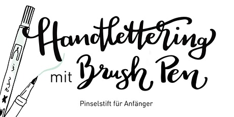 Handlettering mit BRUSH PEN Tickets