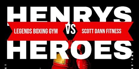 Henrys Heroes WCB Balcony seats tickets