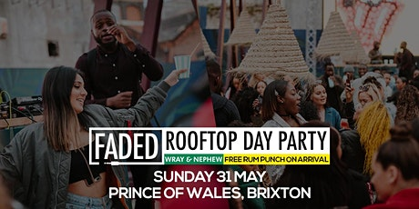Faded Rooftop Day Party + Free Rum Punch tickets