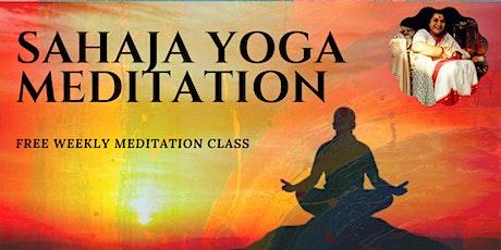 FREE SAHAJYOGA MEDITATION CLASS tickets