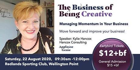 Managing Momentum in Your Business: TBOBC - Aug 2020 tickets
