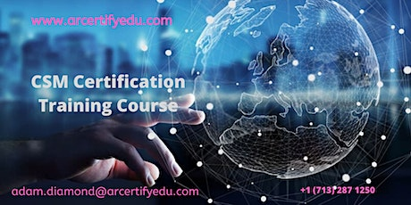 CSM Certification Training Course in Houston, TX, USA tickets