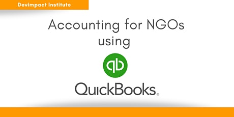 Training on Accounting for NGOs using QuickBooks tickets