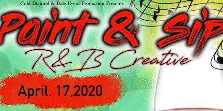 R&B Creative Paint N Sip tickets