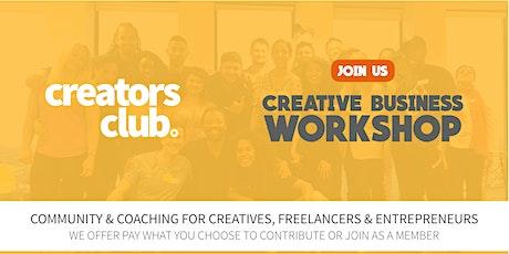 Bristol Creators Club   AUGUST FOCUS: PURPOSE & PROFIT tickets