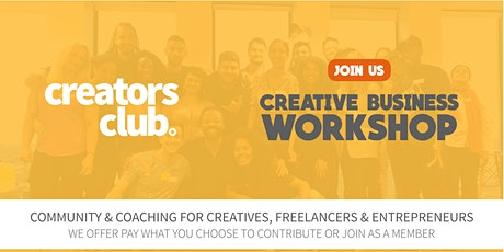 London Creators Club | SEPTEMBER FOCUS: Creative Energy & Drive tickets