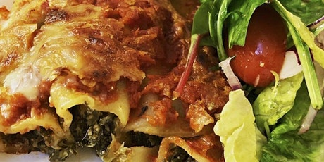 Cooking For Hope - Session 5: Cannelloni Primavera tickets