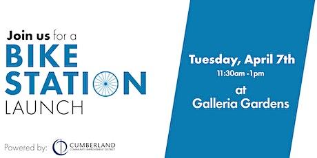 Galleria Gardens Bike Station Launch tickets