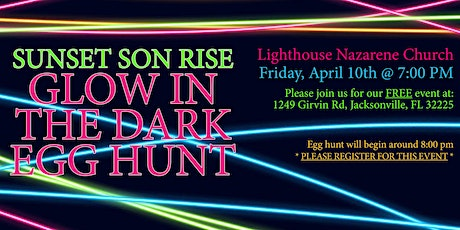 Glow In the Dark Easter Egg Hunt tickets