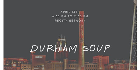 Durham SOUP: A Pitch Competition tickets