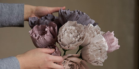 The Art of Paper Flower Making with Pom Pom Factory tickets