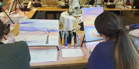 Beautiful Dreams Acrylic Painting Workshop -Adult plus child (up to 17 ) tickets