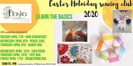 EASTER HOLIDAY CHILDREN'S SEWING CLUB tickets