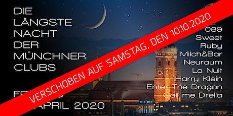 Die längste Nacht der Münchner Clubs ! VERSCHOBEN ! tickets