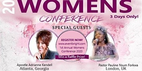 1st Annual Women's Conference 2020 tickets