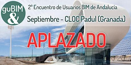2º Encuentro de Usuarios BIM de Andalucía entradas