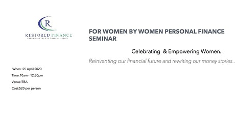 For Women by Women Personal Finance Workshop tickets