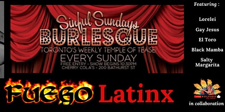 Sinful Sundays: Fuego Latinx Burlesque tickets