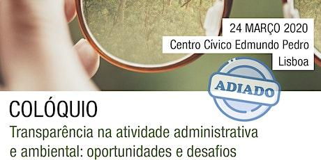 Transparência na Atividade Administrativa e Ambiental: Oportunidades e Desafios bilhetes