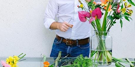 Curso Cómo hacer un Ramo de Flores entradas
