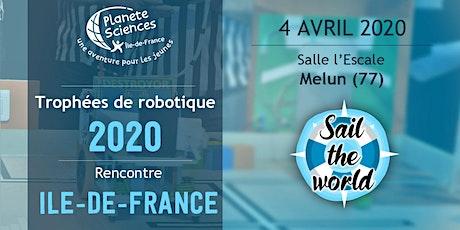 Rencontres Île-de-France des Trophées de Robotique billets