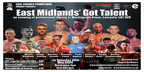 Carl Greaves Promotions Presents East Midlands' Got Talent tickets