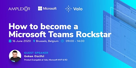 How to become a Microsoft Teams Rockstar tickets