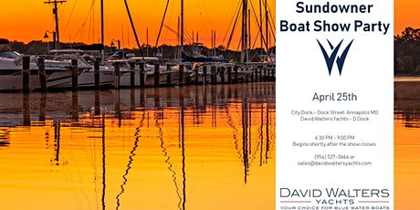 Sundowner Boat Show Party tickets