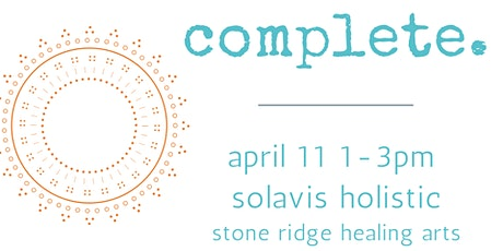 complete: self-care workshop tickets