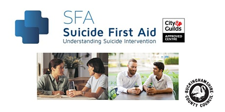 Suicide First Aid Training - DWP, High Wycombe tickets