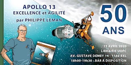 REPORTÉ - 50 ans d'Apollo 13 - Excellence et Agilité par Philippe Leman tickets