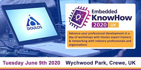 Embedded KnowHow 2020 UK - Crewe tickets