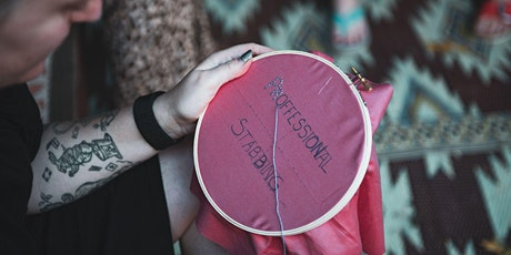 Embroidery + Craftivism Workshop with Badass Cross Stitch tickets