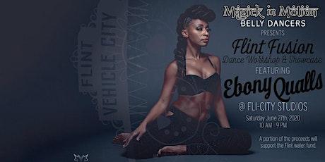 Flint Fusion Dance Workshop and Showcase featuring Ebony Qualls tickets