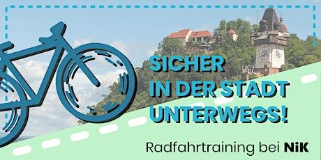 Radfahrtraining - Sicher im Straßenverkehr: Eltern-Kind-Training Tickets