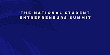 National Student Entrepreneurs Summit tickets